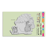 Stampendous, Soft Serve Spill Cling Stamp - Scrapbooking Fairies
