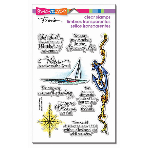 Stampendous Perfectly Clear Stamps, Nautical Anchor