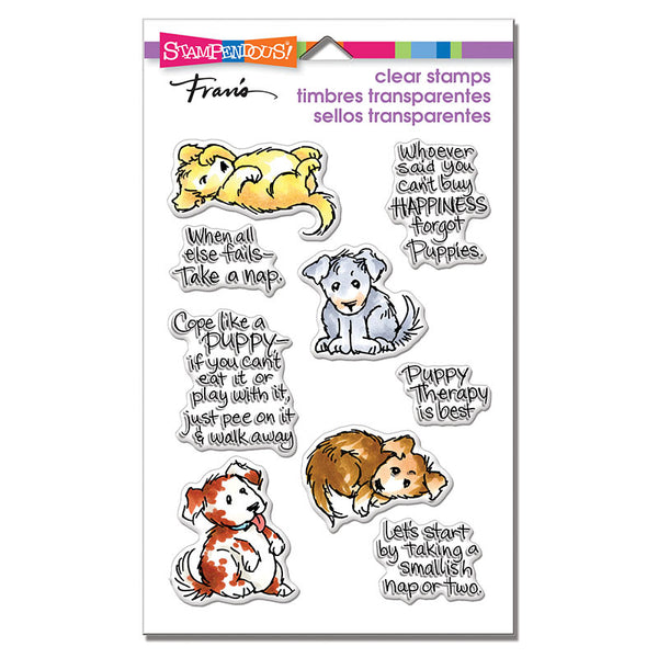 Stampendous Perfectly Clear Stamps, Puppy Therapy
