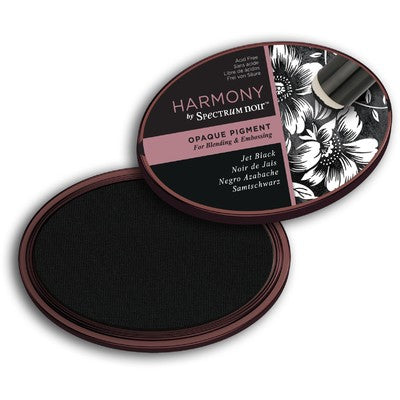 Crafter's Companion, Harmony by Spectrium Noir,  Opaque Pigment Ink Pad, Noir Black