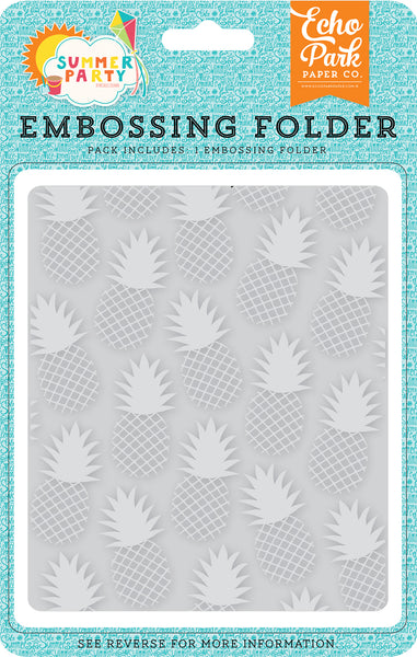 Pineapple Embossing Folder