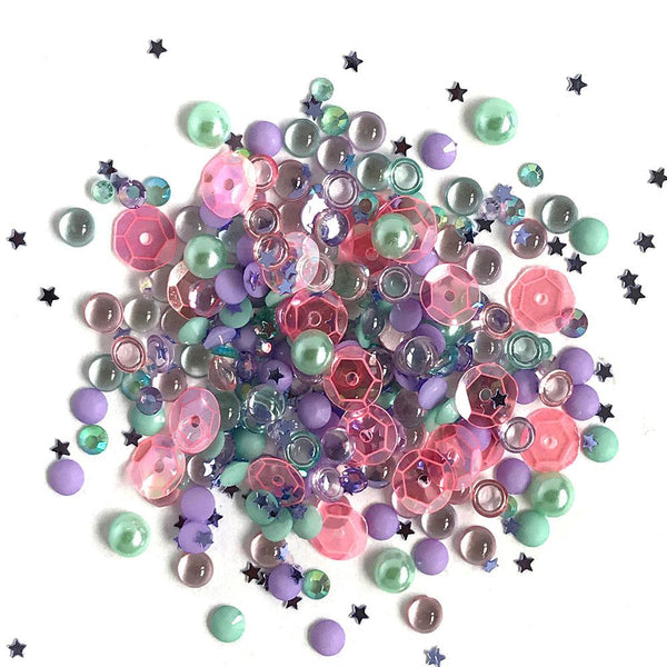 Buttons Galore & More, Sparkletz Embellishment, Mermaid