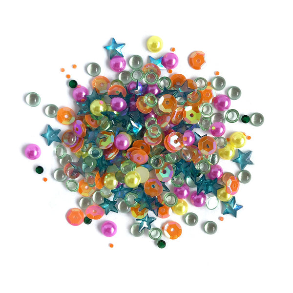 Buttons Galore & More, Sparkletz Embellishment, Rainbow