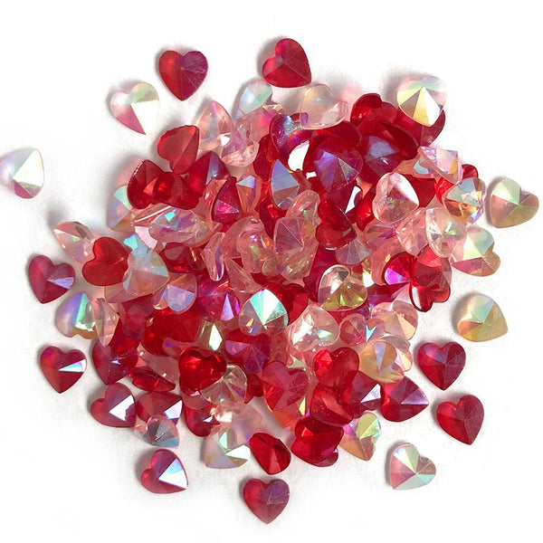 Buttons Galore & More, Sparkletz Embellishment, Love Hearts