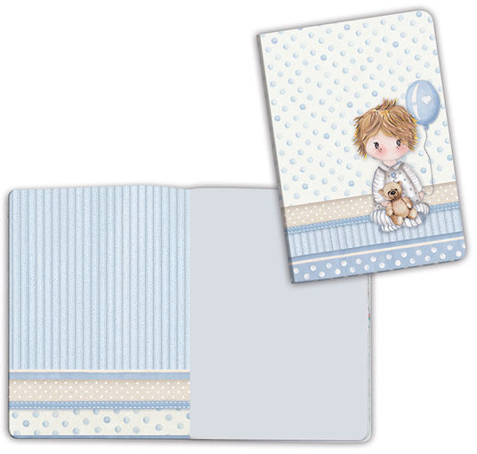 Stamperia, Notebook A6, Baby Boy Balloon