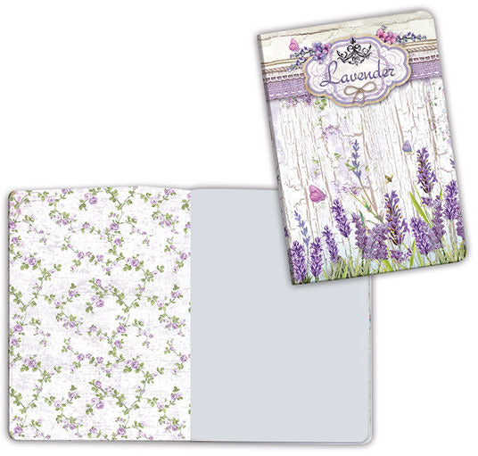 Stamperia, Notebook A6, Lavender
