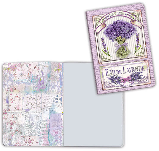 Stamperia, Notebook A6, Lavender Bouque