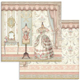 "Stamperia Double-Sided Paper Pad 8""X8"" 10/Pkg, Princess, 10 Designs/1 Each"