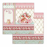 "Stamperia Double-Sided Paper Pad 8""X8"" 10/Pkg, Sweety, 10 Designs/1 Each"