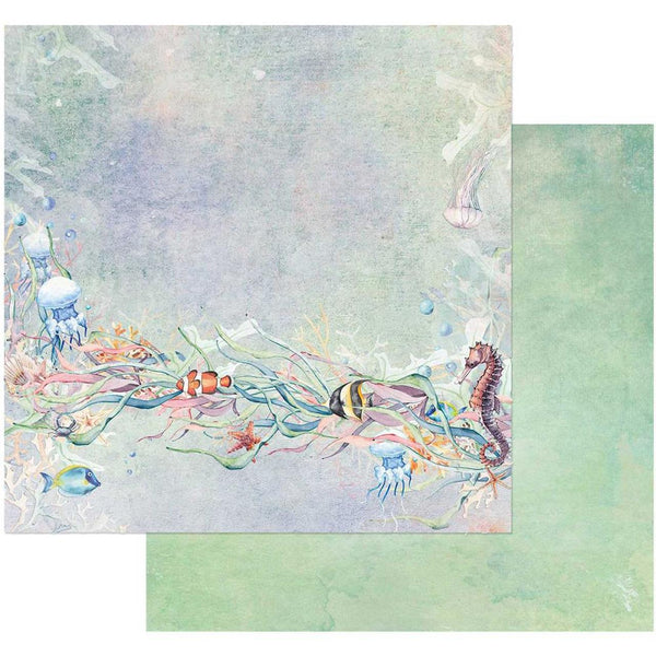 "49 and Market, Sand & Sea Double-Sided Cardstock 12""X12"", Tangled (Retired)"