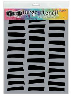 "Dyan Reaveley's Dylusions Stencils 9""X12"", Shutters, Large"