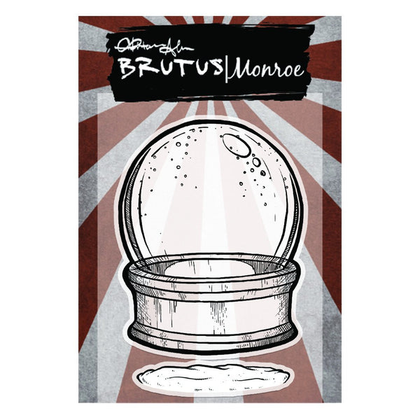 Brutus Monroe,  Clear Stamps, Snowglobe - Empty
