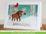"Lawn Fawn, Clear Stamps 4""X6"", Snowy Backdrops"