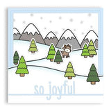 Lawn Fawn, Lawn Cuts Custom Craft Die, So Joyful Line Border