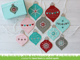 Lawn Cuts Custom Craft Dies, Stitched Ornaments - Scrapbooking Fairies