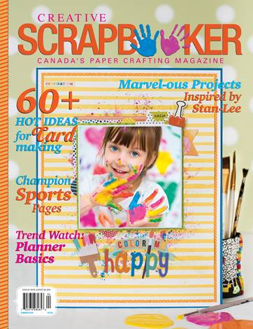 2019 Creative Scrapbooker Magazine, Summer