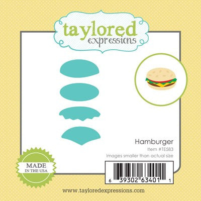 Taylored Expressions, Little Bits - Hamburger, Thinlits Dies - Scrapbooking Fairies