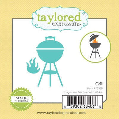 Taylored Expressions, Little Bits - Grill, Thinlits Dies - Scrapbooking Fairies