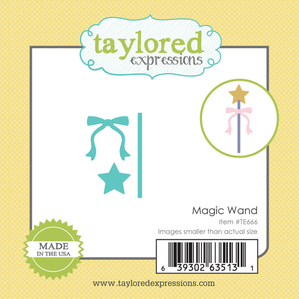 Taylored Expressions, Little Bits - Magic Wand, Thinlits Dies - Scrapbooking Fairies