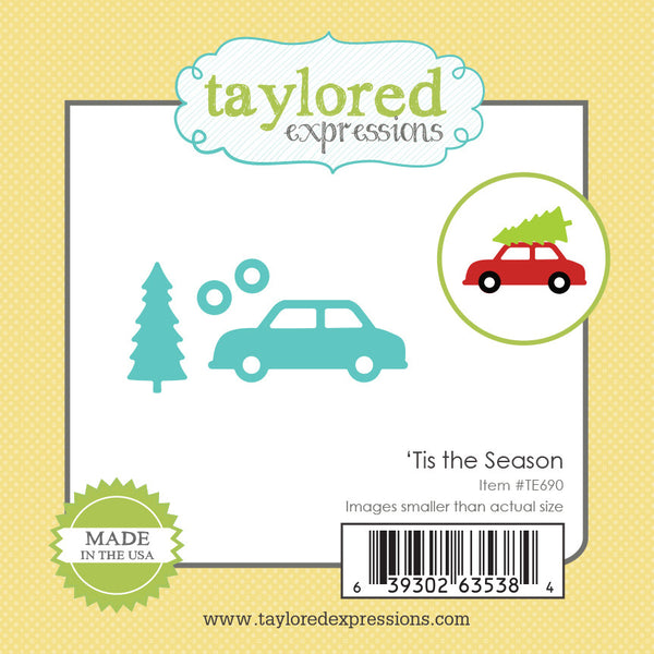 Taylored Expressions, Little Bits - Tis The Season, Thinlits Dies