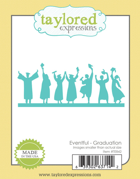 Taylored Expressions, Die, Eventful - Graduation - Scrapbooking Fairies