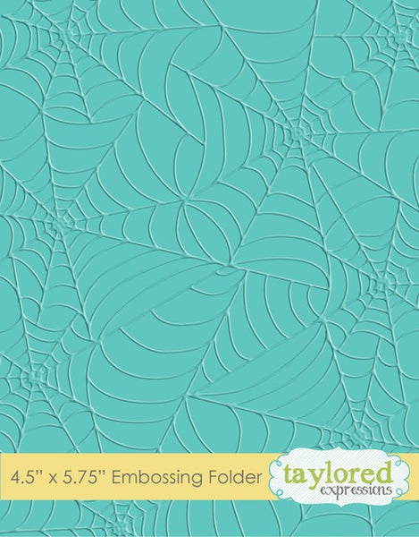 Taylored Expressions, Tangled Webs Folder - Scrapbooking Fairies