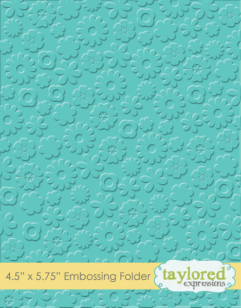 Flower Power Folder - Scrapbooking Fairies