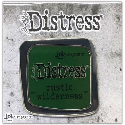 Tim Holtz Distress Enamel Collector Pin, Rustic Wilderness