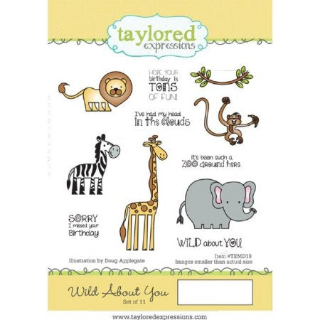 Taylored Expressions, Wild About You, Stamps & Dies Combo (Retired)