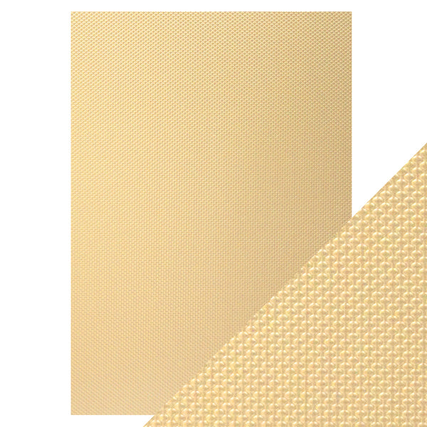Tonic Studios, A4 Luxury Embossed Cardstock, Golden Mosaic