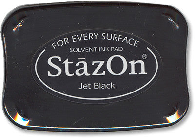 StazOn Ink Pad, Jet Black - Scrapbooking Fairies