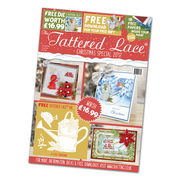 Tattered Lace, The Tattered Lace Magazine, Christmas Special 2017 - Scrapbooking Fairies