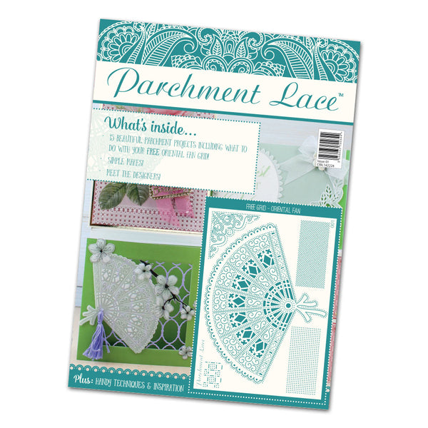 Tattered Lace, Parchment Lace Magazine Issue 1 - Scrapbooking Fairies