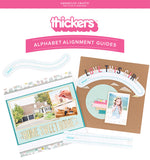 American Crafts, Thickers Alignment Guide Tool - Scrapbooking Fairies