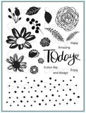 Gina K. Designs, Clear Stamps,Today & Always by Lisa Hetrick