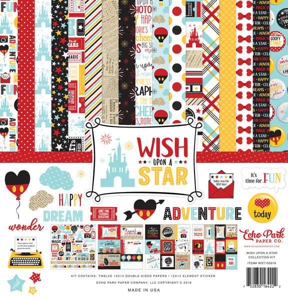 "Echo Park Collection Kit 12""X12"" Wish Upon A Star"