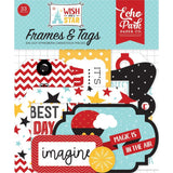 Wish Upon A Star, Cardstock Die-Cuts, Frames & Tags, 33/Pkg Icons