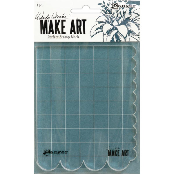 Wendy Vechhi Make Art Perfect Stamp Block