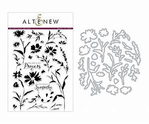 Altenew, Wildflower Garden Stamp & Die Bundle
