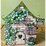 Heartfelt Creations - Wildwood Cottage Accents Dies - Scrapbooking Fairies