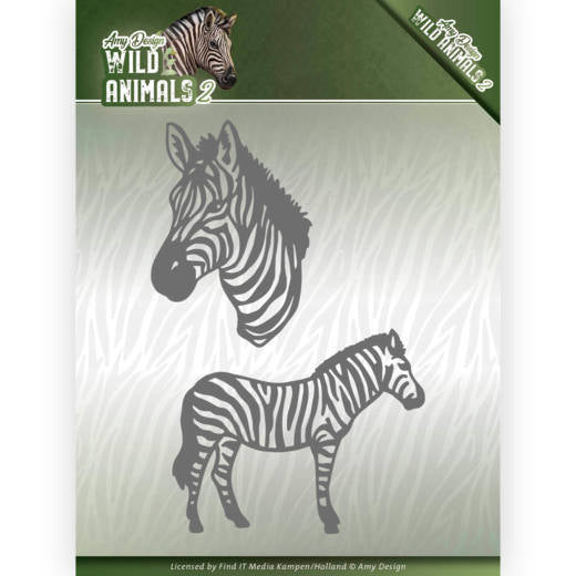 Find It Trading Amy Design Die, Zebra, Wild Animals 2