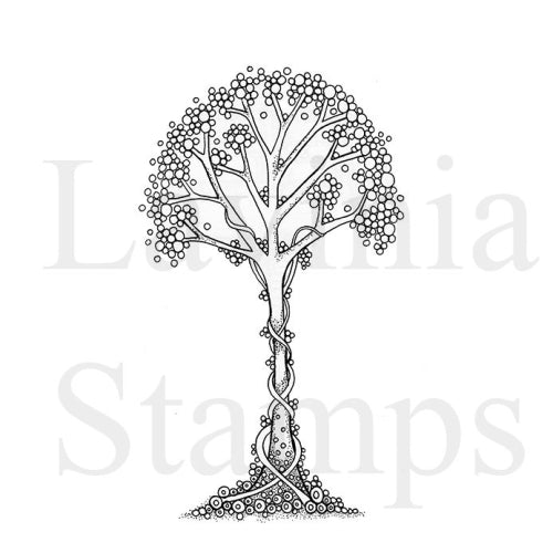 Lavinia Stamps, Zen Tree, Clear Stamps - Scrapbooking Fairies