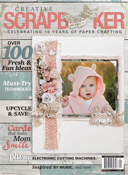 2017 Creative Scrapbooker Spring Issue - Scrapbooking Fairies