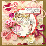Dreamerland Crafts, A Token Of Love For You, Rubber Stamps - Scrapbooking Fairies