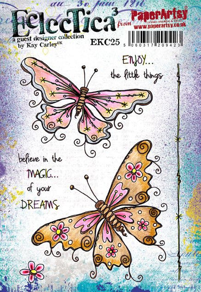 *PRE-ORDERING, PaperArtsy, E³ Kay Carley 25 (A5 set, trimmed, on EZ)