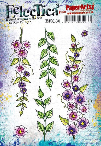 *PRE-ORDERING, PaperArtsy, E³ Kay Carley 30 (A5 set, trimmed, on EZ)
