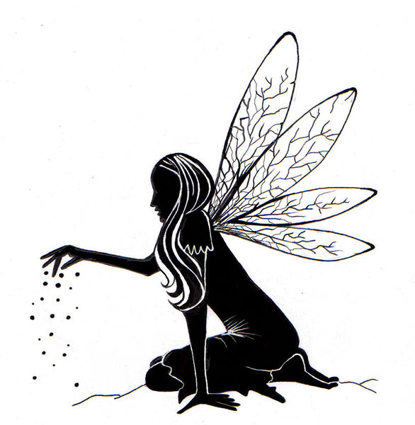 Lavinia Stamps, Fairy Dust Silhouette Clear Stamps