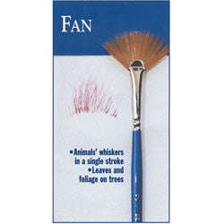 #2 FAN Series 900b Bette Byrd Brushes - Scrapbooking Fairies