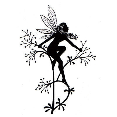 Lavinia Stamps, Flower Fairy, Clear Stamp - Scrapbooking Fairies