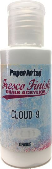 PaperArtsy, Fresco Finish Chalk Acrylics Paint - Cloud 9